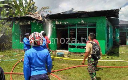 Duduga Akibat Korsleting,  1 Rumah Di Pentadio Terbakar