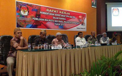 KPU Kota Gelar Rapat Kerja Pembentukan Sekretariat PPK Dan PPS
