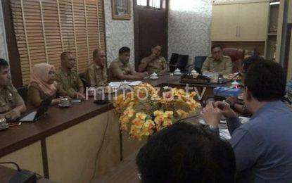 Pertemuan Wali Kota Dengan BPK Perwakilan Provinsi Gorontalo