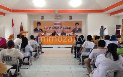 DPD Hanura Gelar Rapat Internal Persiapan Sosialisasi Tingkat Kelurahan