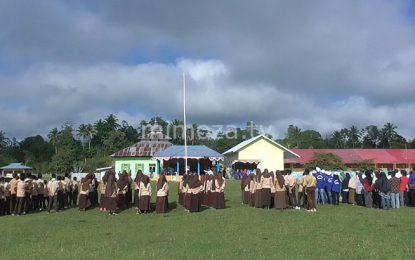 Refleksi Hari Sumpah Pemuda, Bupati Bone Bolango Gelar Upacara Di Pinogu