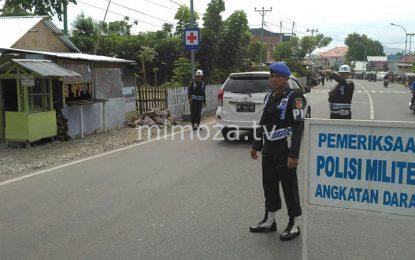 Antisipasi Penyahgunaan, Polisi Militer Gelar Razia Atribut TNI