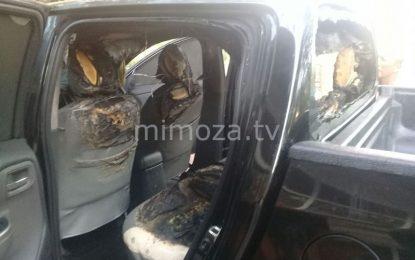 Diduga Korsleting, Mobil Dinas Perikanan Kabgor Terbakar