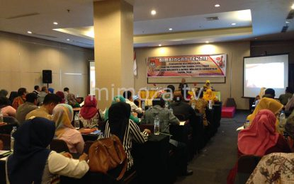KPU Kota Gelar Bimbingan Teknis Penguatan Kelembagaan Bagi Anggota PPS