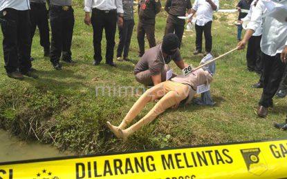 Rekonstuksi Pembunuhan di Tibawa, 44 Adegan Diperagakan Pelaku