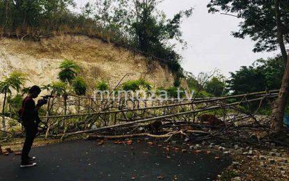 Belum Selesai Pembayaran, Warga Blokir Jalan Akses Ke Benteng Otanaha