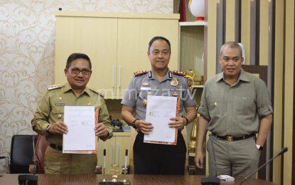 Pemkot-Polres Sepakat Dana Pengamanan Pilwako 2018 2,6 Miliar Rupiah