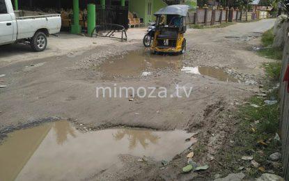 Warga Minta Perbaikan Jalan Rusak Di Desa Tinelo
