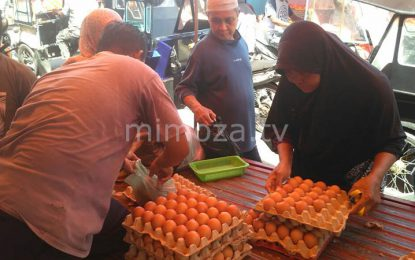 Jelang Perayaan Maulid, Harga Telur Melonjak