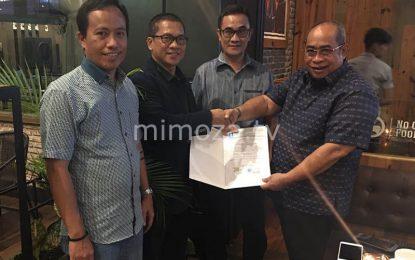 DPP PAN Resmi Keluarkan SK Dukungan Untuk AD-CBD Di Pilwako