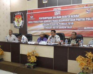 KPU : Tidak Ada Perpanjangan Perbaikan Syarat Parpol