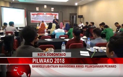 Warta 67 – (Video) Bawaslu Libatkan Mahasiswa Awasi Pelaksanaan Pilwako