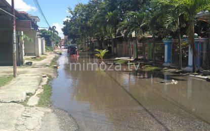 Salah Satu Jalan Di Dulalowo Jadi Langganan Genangan Air