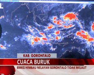 Warta 67 – (Video) BMKG Himbau Nelayan Gorontalo Tidak Melaut