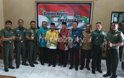 Komisi I DPR-RI Tinjau Pembangunan Korem Gorontalo