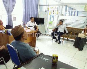 Jelang Tahapan Pendaftaran Paslon, KPU Koordinasi Dengan Pihak RS Aloei Saboe