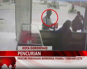 Warta 67 – (Video) Pencuri Perhiasan Bermodus Pembeli Terekam CCTV