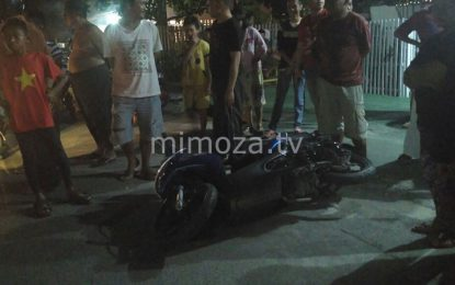 Kecelakaan Di Jalan Palma, 1 Korban Kritis