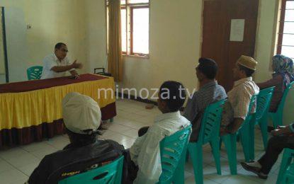 Warga Biluhu Gelar Aksi Protes Tolak Calon PLT Desa