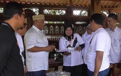 Komisioner KPU Lakukan Coklit Di Rumah Pejabat Dan Tokoh Masyarakat