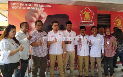 Datangi DPC Gerindra Kota, Hardi Hemeto Ceritakan Momen Gantikan CBD