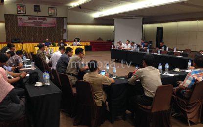 KPU Kota Gelar Rapat Bersama Partai Politik Pengusung Bahas APK Dan Debat Calon