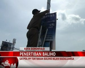Warta 67 – (video) Satpol PP Tertibkan Baliho Iklan Kadaluarsa