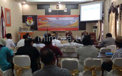 KPU Kota Sampaikan Hasil Verifikasi Faktual Parpol Calon Peserta Pemilu 2019