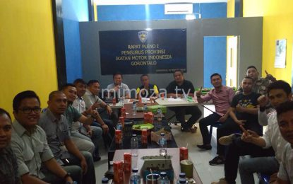 Bahas Agenda Tahunan, Pengprov IMI Gorontalo Gelar Rapat Pleno Perdana