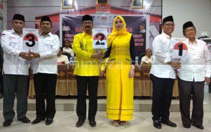 KPU Gorontalo Utara Gelar Pengundian Nomor Urut Pasangan Calon