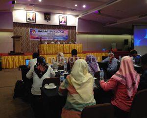 Evaluasi Kinerja PPK, KPU Kota Gelar Rapat Kerja Evaluasi