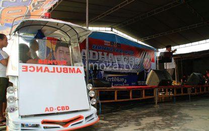 Tingkatkan Pelayanan Kesehatan, Adhan – Hardi Siapkan Bentor Ambulance