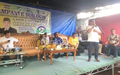 Dalam Kampanye Dialogis Matahari Prioritaskan Visi dan Misi