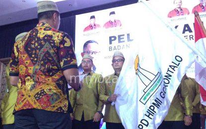 """Pelantikan Rio Nurdin Sebagai Ketua BPD Hipmi Gorontalo Dihadiri """"Mantan Pacar"""""""