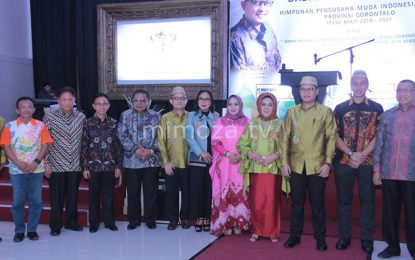 Pimpin Hipmi Gorontalo, Rio Nurdin Warisi Bakat Dari Sang Ayah