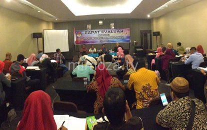 Kumpulkan Seluruh Petugas PPK, KPU Kota Gelar Rapat Kerja Evaluasi