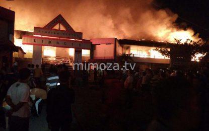 Breaking News : Shoping Center Limboto Dilalap Si Jago Merah