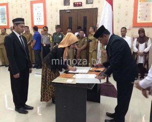 KPU Kota Gorontalo Lantik 27 Anggota PPK Pemilu 2019