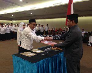 KPU Kota Gorontalo Lantik 150 Petugas PPS Pemilu 2019