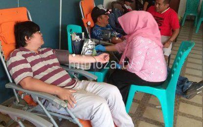 Jelang Reuni Akbar 2018, IKASMANSA Gelar Aksi Sosial Donor Darah