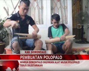 Warta 67 – (Video) Warga Gorontalo Inginkan Alat Musik Polopalo Terus Dilestarikan