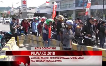 Warta 67 – (Video) Datangi Kantor KPU Dan Bawaslu, GPPRG Gelar Aksi Serukan Pilkada Damai