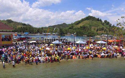 Sambut Perayaan Nyepi, Ribuan Umat Hindu Gorontalo Gelar Upacara Melasti