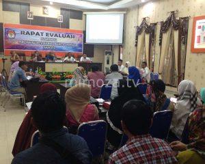 Sebelum Pleno Data Pemilih Sementara, KPU Gelar Rapat Evaluasi Bersama PPK