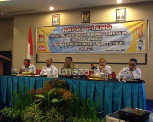 Daftar Pemilih Sementara Kota Gorontalo Berjumlah 127.540