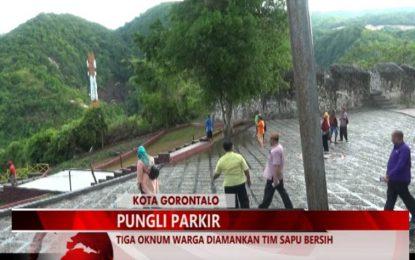 Warta 67 – (Video) Pungli Parkir Di Benteng Otanaha, 3 Oknum Warga Diamankan Tim Sapu Bersih