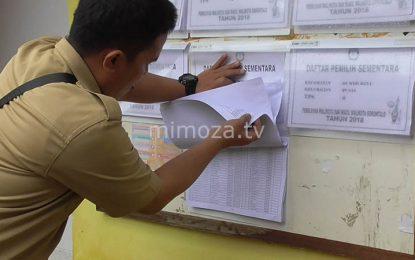 KPU Kota Umumkan Daftar Pemilih Sementara Di Kantor Kelurahan