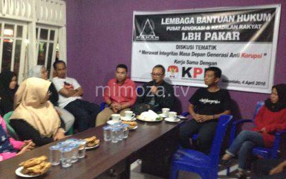 LBH Pakar Gelar Diskusi Bersama KPK Republik Indonesia