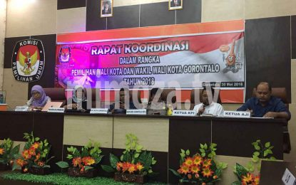KPU Kota Gelar Rapat Koordinasi Bersama Media Massa