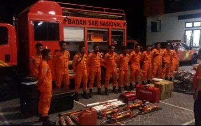 Basarnas Gorontalo Turunkan 1 Tim BKO Bencana Gempa Sulteng